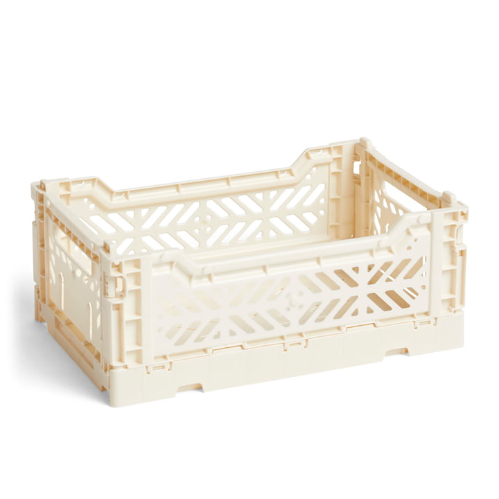 Hay - Colour Crate Korb S, 26,5 x 17 cm, off white