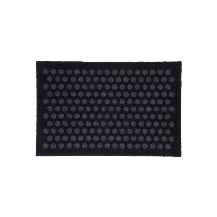 Dot Fußmatte 40 x 60 cm von tica copenhagen in schwarz / grau
