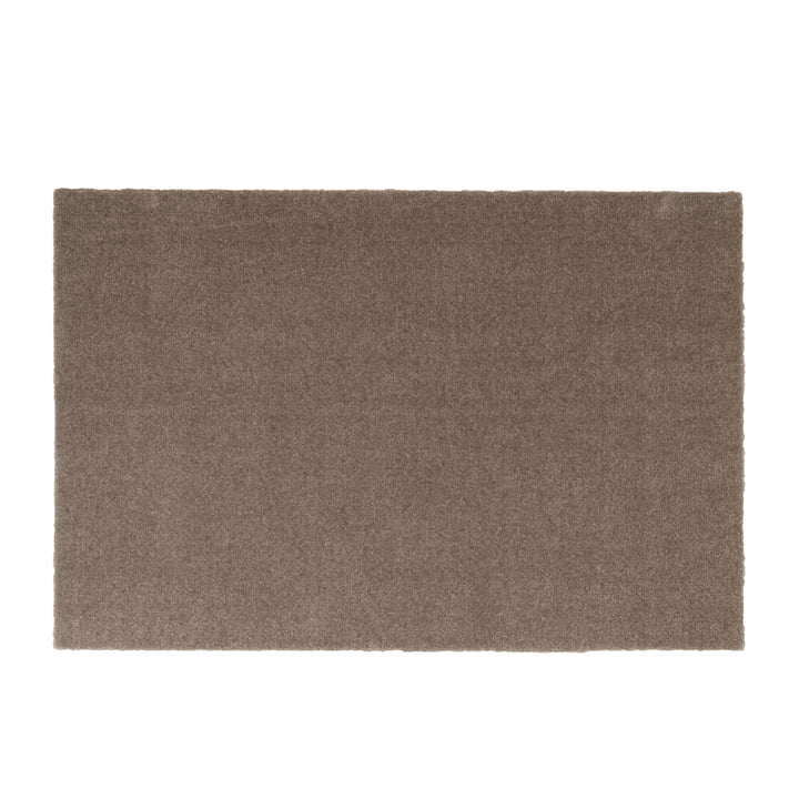 Fußmatte 60 x 90 cm von tica copenhagen in Unicolor sand