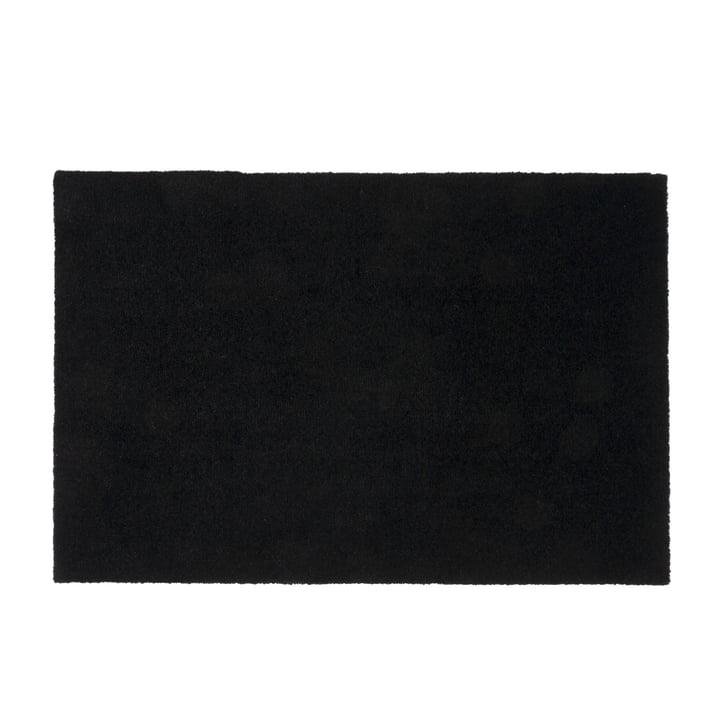 Fußmatte 60 x 90 cm von tica copenhagen in Unicolor schwarz