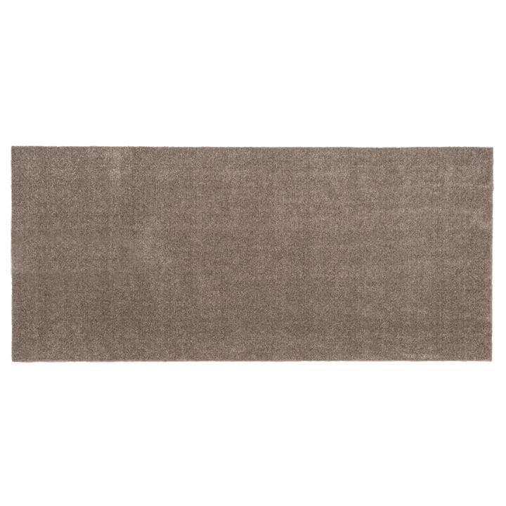 Fußmatte 67 x 150 cm von tica copenhagen in Unicolor sand