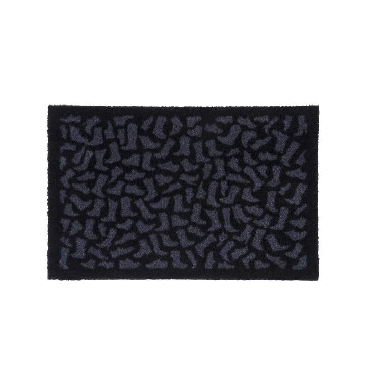 Footwear Fußmatte 40 x 60 cm von tica copenhagen in schwarz / grau