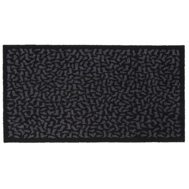 Footwear Fußmatte 67 x 120 cm von tica copenhagen in schwarz / grau