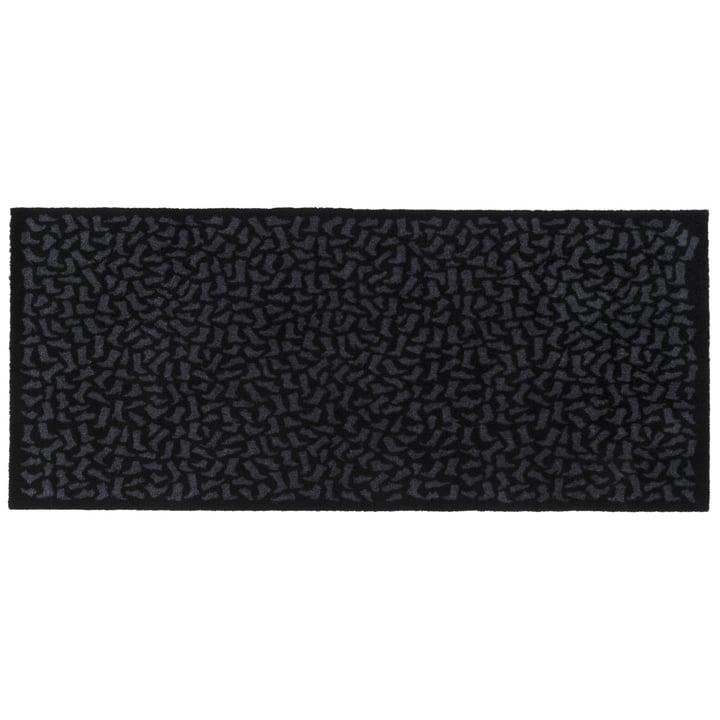 Footwear Fußmatte 67 x 150 cm von tica copenhagen in schwarz / grau