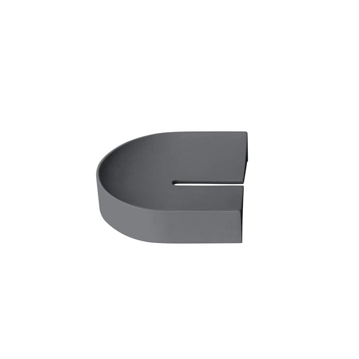 Arc Tablett klein von Caussa in grau