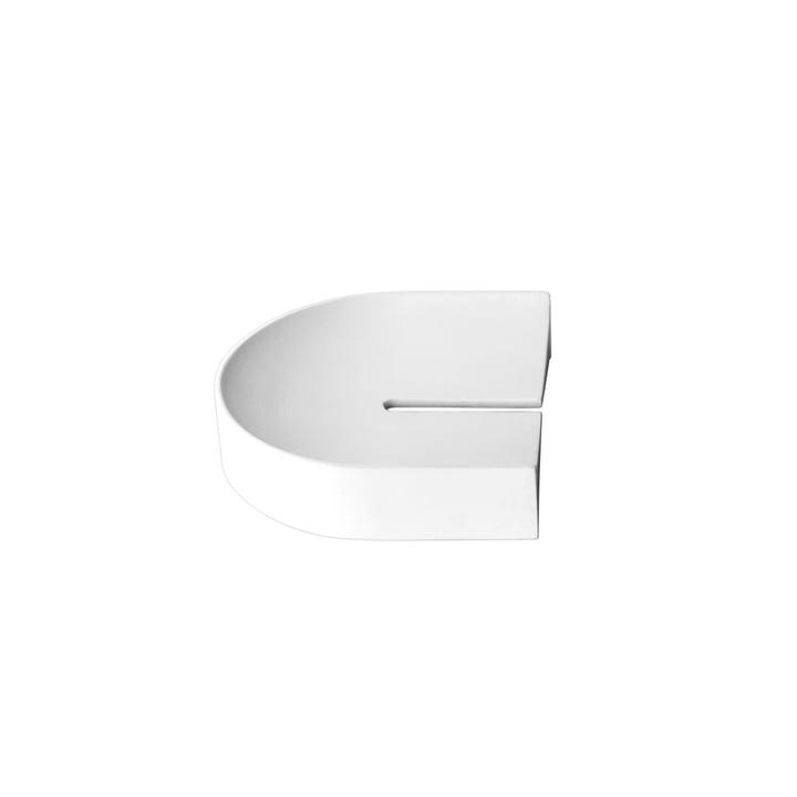 Arc Tablett klein von Caussa in weiß
