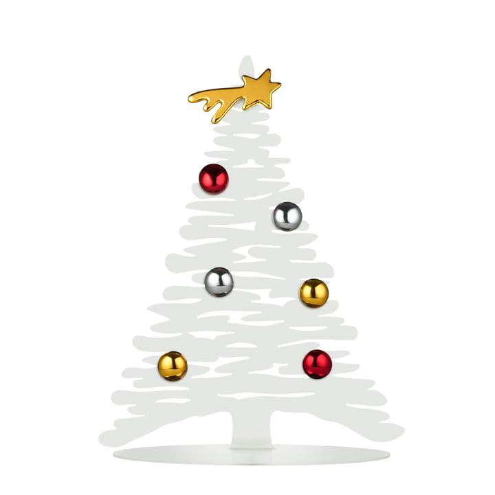 Bark for Christmas H 30 cm von Alessi in weiß