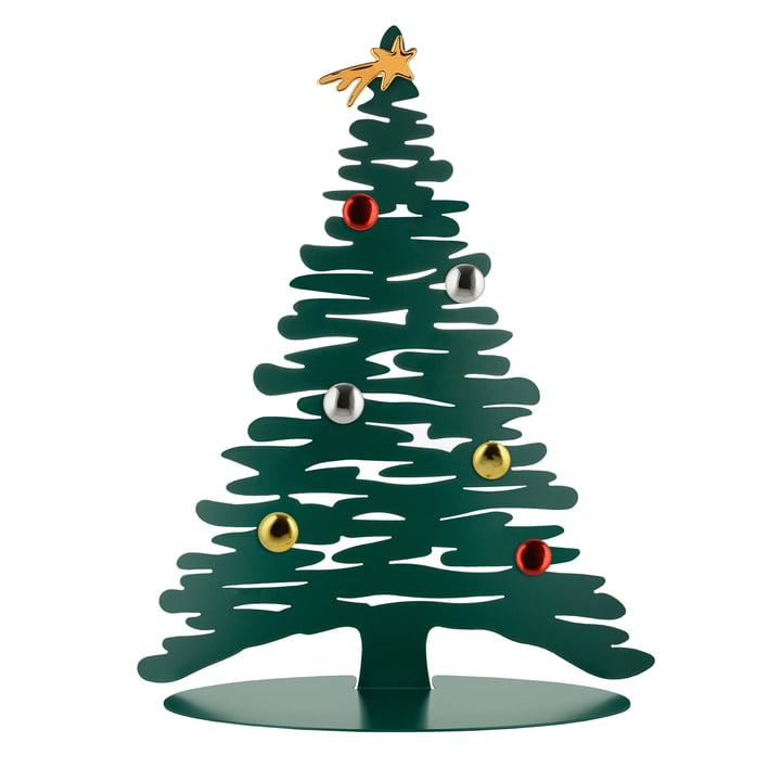 Bark for Christmas H 45 cm von Alessi in grün