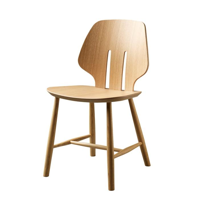 J67 Stuhl, Eiche klar lackiert von FDB Møbler