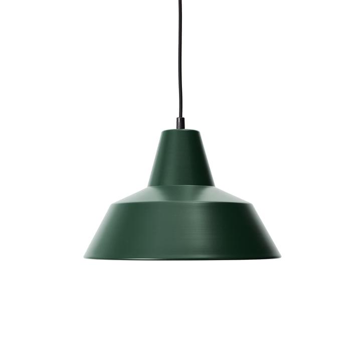 Workshop Lamp W3, racing green / schwarz von Made by Hand