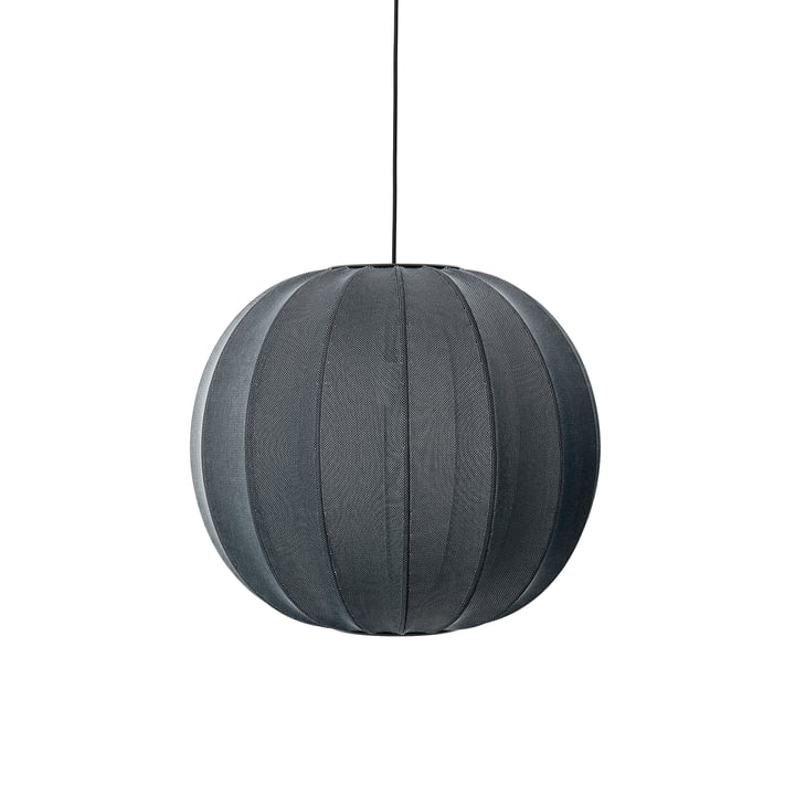 Made by Hand - Knit-Wit Pendelleuchte Ø 60 cm, schwarz