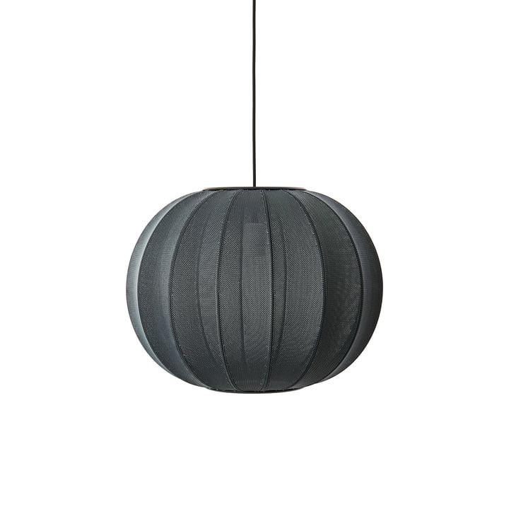 Knit-Wit Pendelleuchte Ø 45 cm, schwarz von Made by Hand