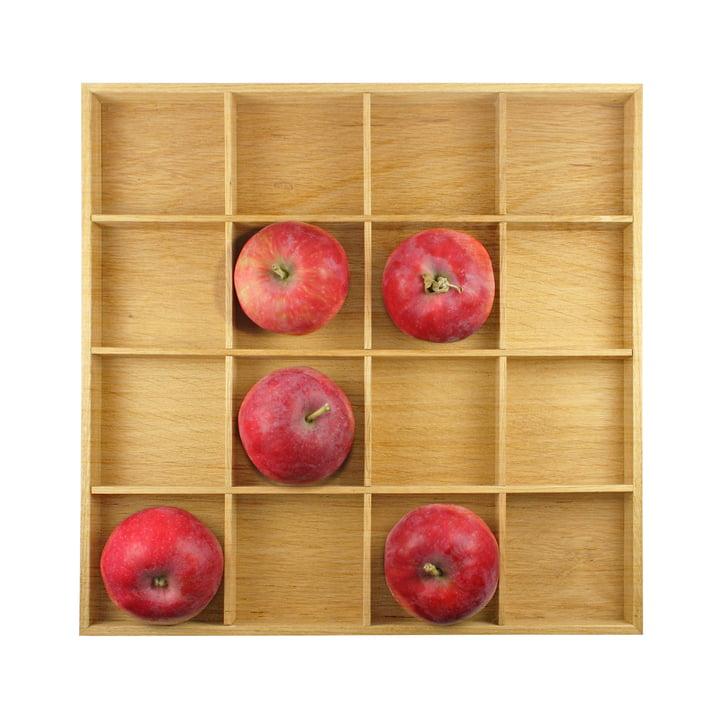 Apfelkasten, 31 x 31 cm, Eiche natur von Raumgestalt