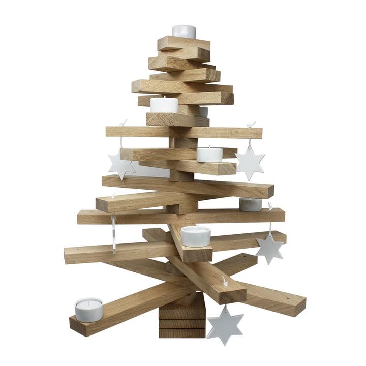Baumsatz H 50 cm, Eiche natur von Raumgestalt