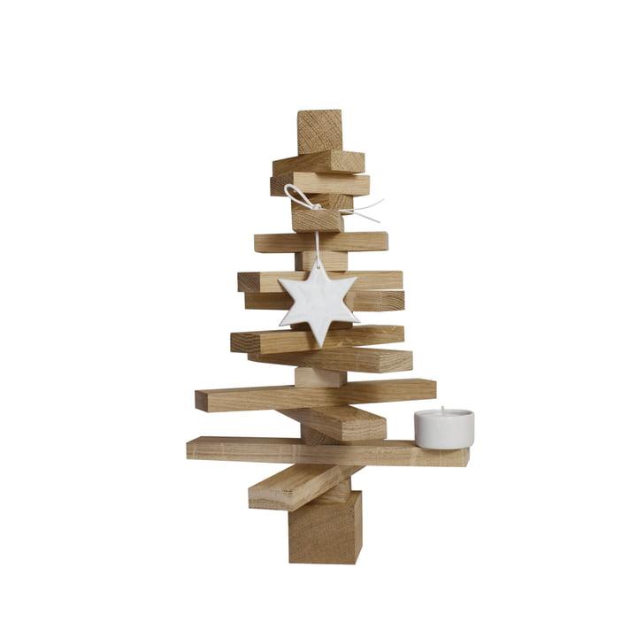 Baumsatz H 30 cm, Eiche natur von Raumgestalt
