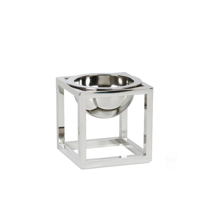 Kubus Bowl, mini, Nickel von by Lassen