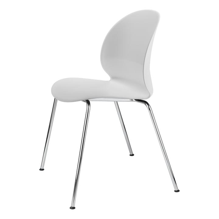 Fritz Hansen - N02 Recycle Stuhl, Chrom / off-white