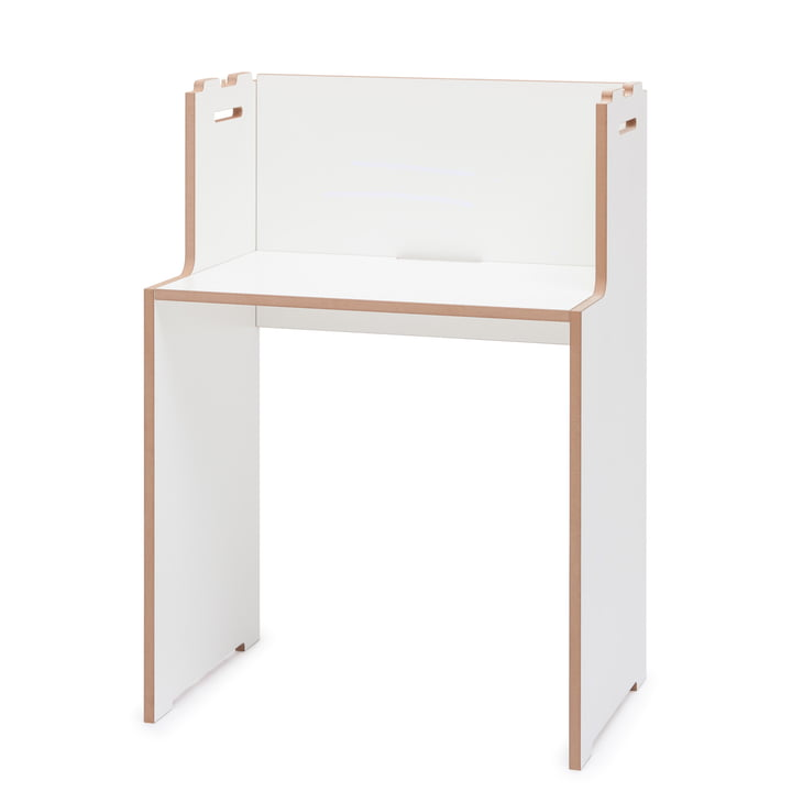 schreib Schreibtisch von Tojo in weiß