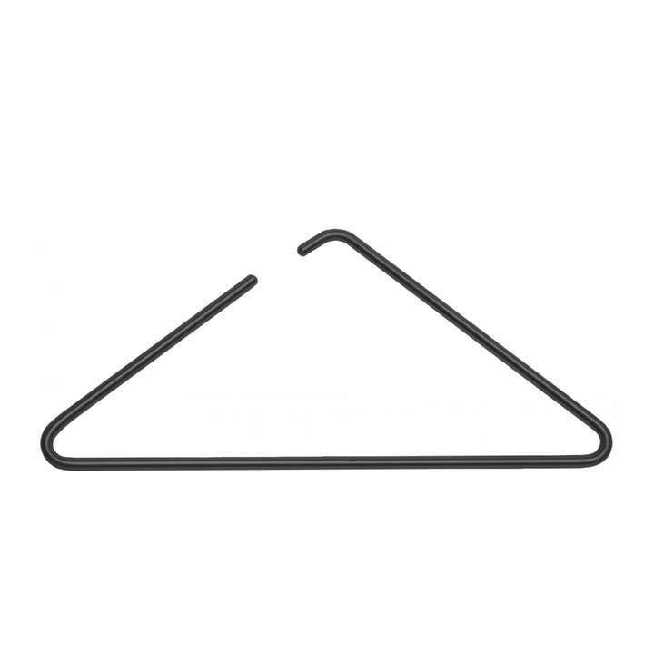 Triangle Kleiderbügel von Roomsafari in schwarz