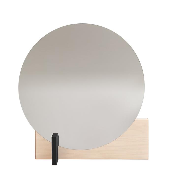 Hoffmann Spiegel von Objekte unserer Tage in Esche gewachst / schwarz
