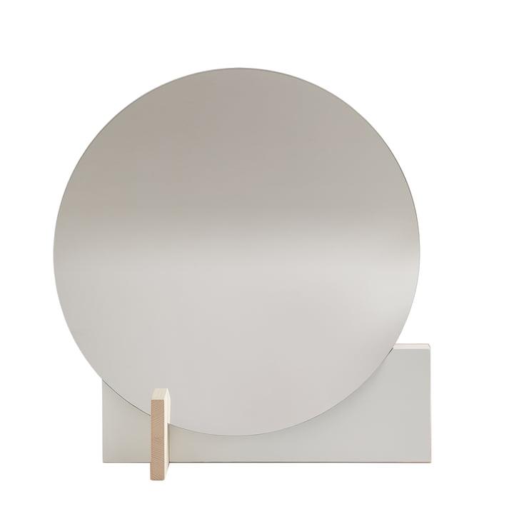 Hoffmann Spiegel von Objekte unserer Tage in Esche gewachst / weiß