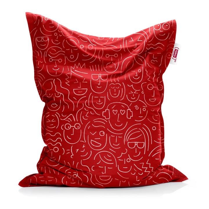 Sitzsack Original von Fatboy in red (let's-face-it / Special Edition)