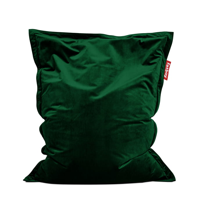 Sitzsack Original Slim Velvet von Fatboy in emerald green