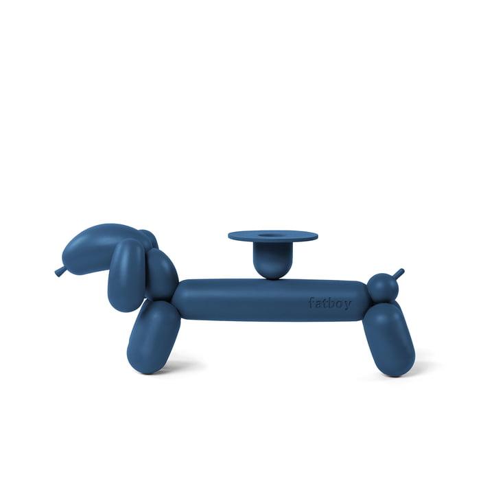 can-dog Kerzenständer von Fatboy in graublau