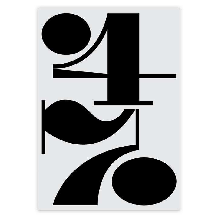 artvoll - Numbers 47 Poster