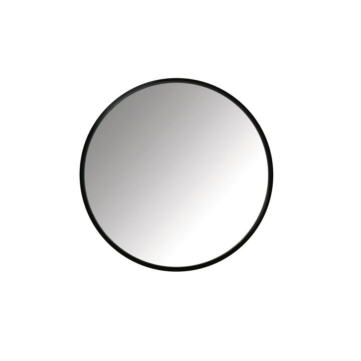 Hub Spiegel Ø 45 cm von Umbra in schwarz