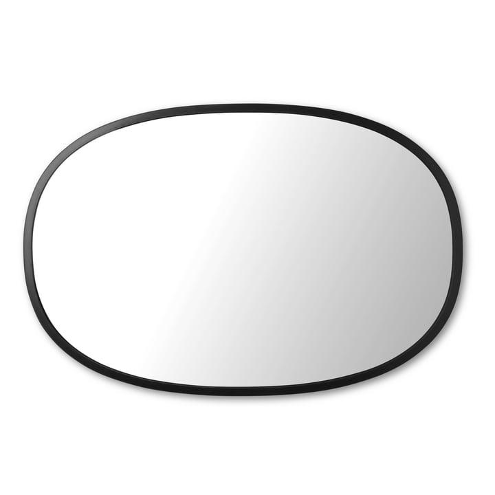 Hub Spiegel Oval 61 x 91 cm von Umbra in schwarz