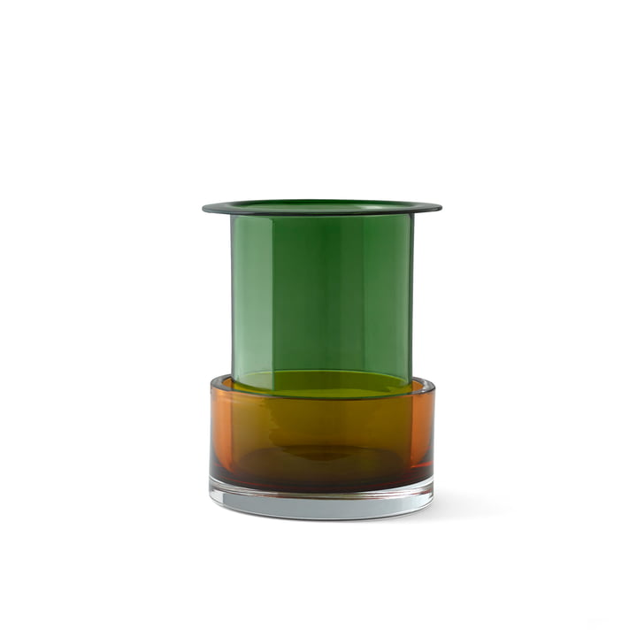Triecolore Vase SH1 von &tradition in malachite / cornaline