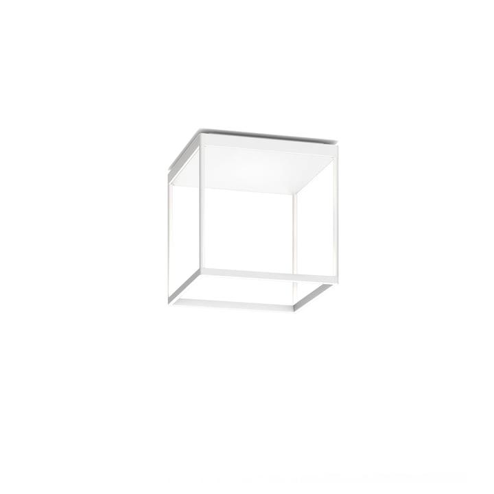 Reflex² 300 M LED-Deckenleuchte, 2700 K / 4520 lm, weiß / Strukturglas weiß von serien.lighting