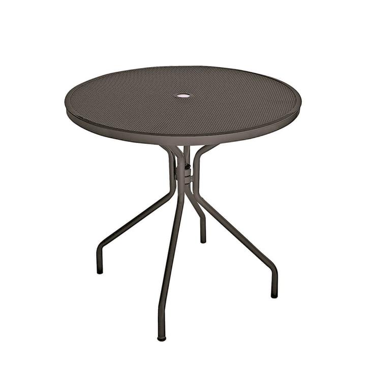 Cambi Tisch Ø 80 cm, antikeisen von Emu