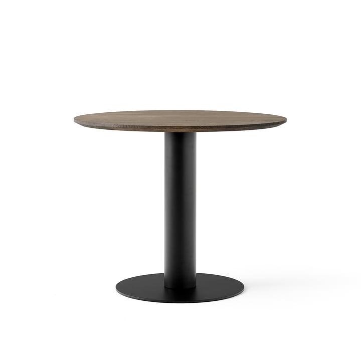 In Between Tisch SK11 Ø 90 cm von &Tradition in Eiche geräuchert