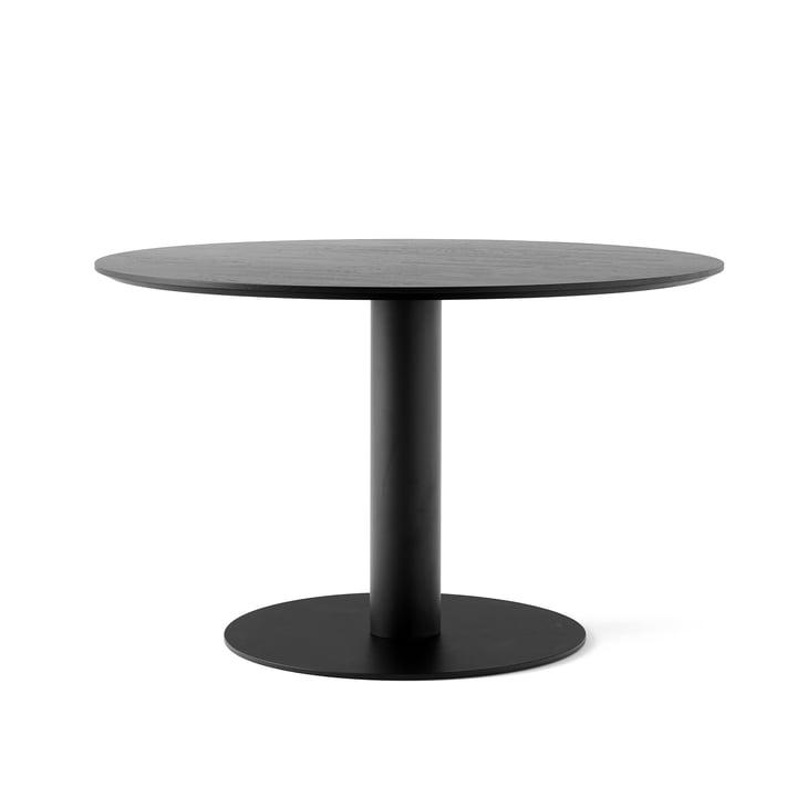 In Between Tisch SK12 Ø 120 cm von &tradition in Eiche schwarz lackiert