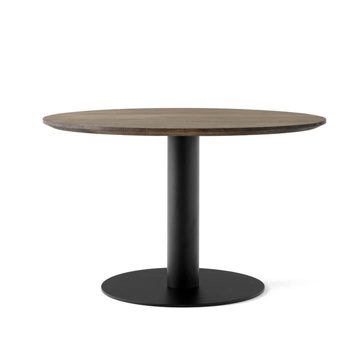 In Between Tisch SK12 Ø 120 cm von &tradition in Eiche geräuchert