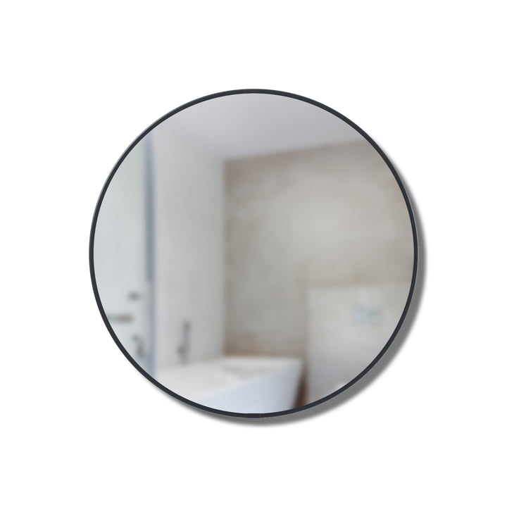 Cirko Spiegel Regal Ø 20 cm von Umbra in schwarz