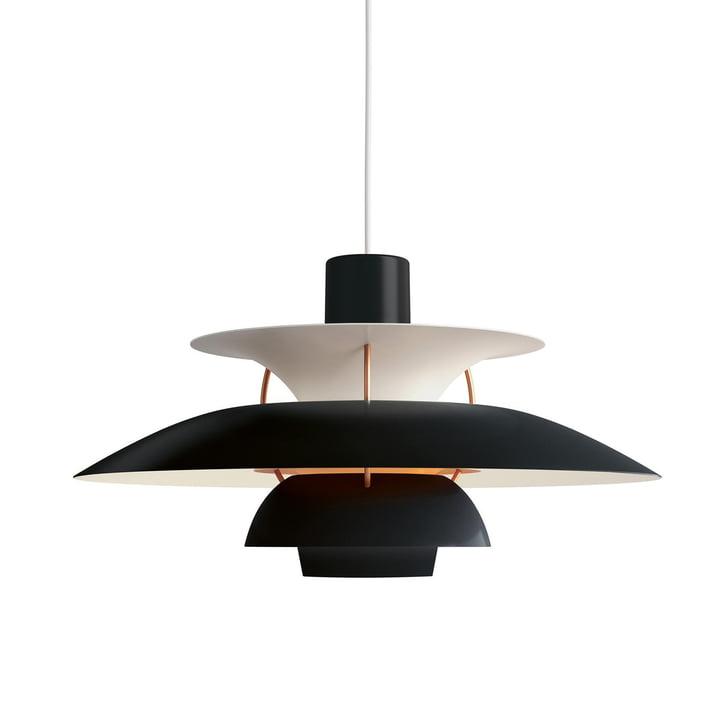 PH 5 Pendelleuchte von Louis Poulsen in hues of black / orange