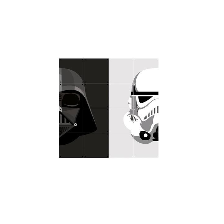 Stormtrooper / Darth Vader 80 x 80 cm von IXXI