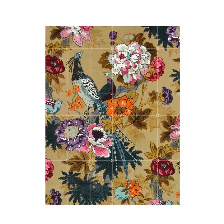 Tropical Birds (Morton Sundour Fabrics Ltd, England) 120 x 160 cm von IXXI