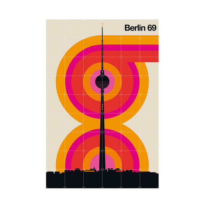 Berlin 69 (Bo Lundberg) 120 x 180 cm von IXXI