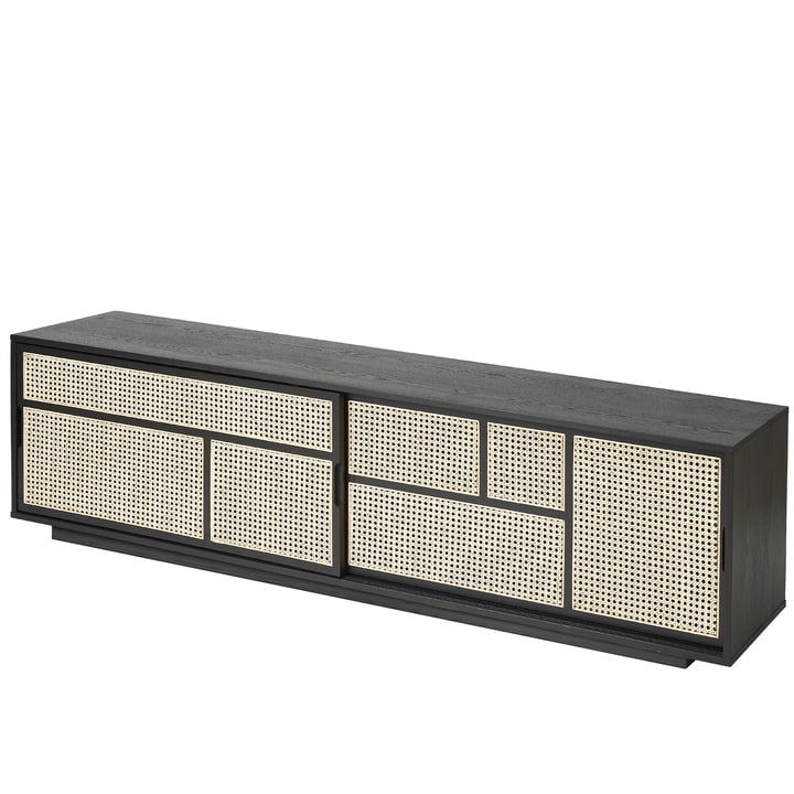 Air Sideboard / TV- Konsole von Design House Stockholm in schwarz