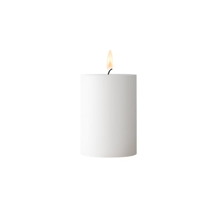Weiße Stumpenkerze 7 cm Höhe