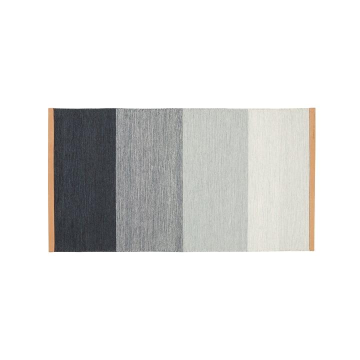 Fields Teppich 70 x 130 cm von Design House Stockholm in blau / grau