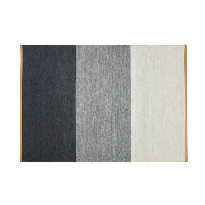 Fields Teppich 170 x 240 cm von Design House Stockholm in blau / grau