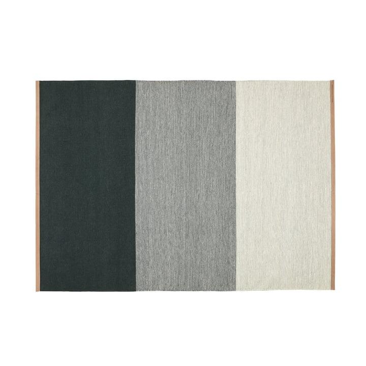 Fields Teppich 170 x 240 cm von Design House Stockholm in grün / grau