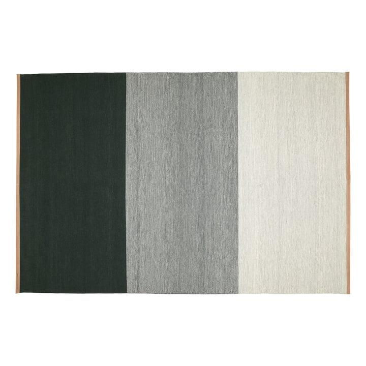 Fields Teppich 200 x 300 cm von Design House Stockholm in grün / grau