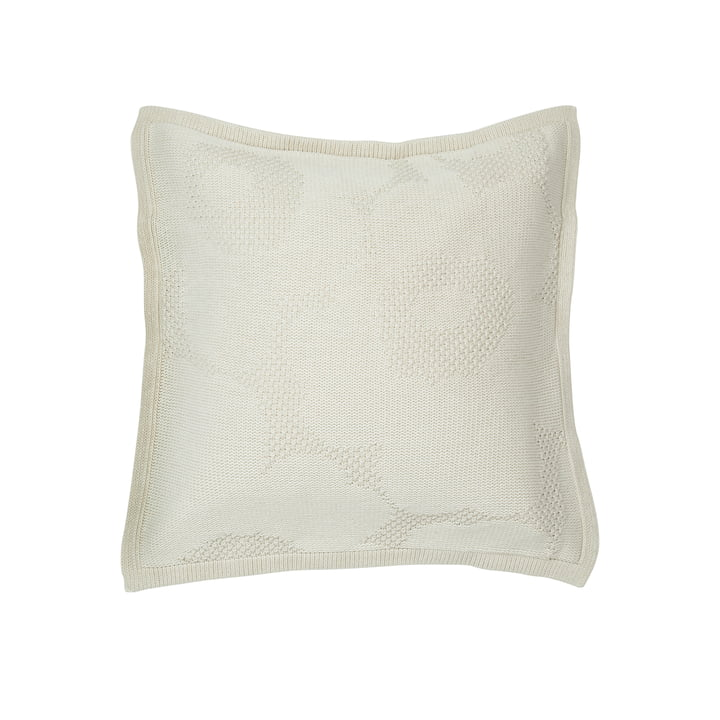 Unikko Kissenbezug 50 x 50 cm, off-white von Marimekko