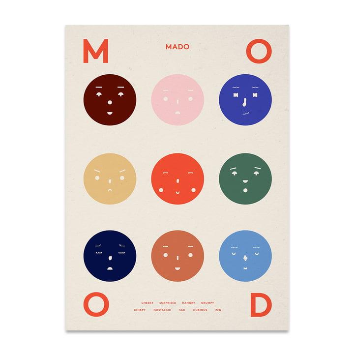 Nine Moods 50 x 70 cm von Paper Collective